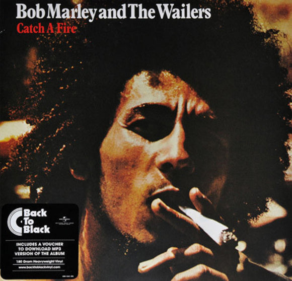 Bob Marley & The Wailers Catch A Fire LP 180 Gram Remastered Vinyl & Download EU Import NEW SEALED