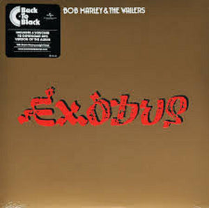 Bob Marley & The Wailers Exodus LP 180 Gram Remastered Vinyl & Download EU Import NEW SEALED