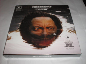 "Thundercat Drunk 4 LP 10"" RED Vinyl Box Set & Download 2017 UK Import NEW SEALED"