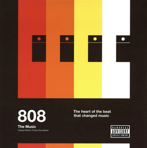 808: The Music Original Motion Picture Soundtrack 2 LP Vinyl Hip-Hop Import NEW SEALED