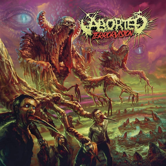 Aborted Terrorvision LP (180 Gram, Glow in the Dark Vinyl, gatefold, download)