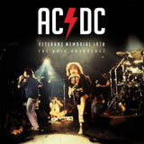 AC/DC Veterans Memorial 1978 LP RED Vinyl Ltd UK Import NEW PreOrder