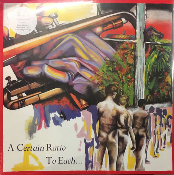A Certain Ratio To Each 2 LP Remastered RED Colored Audiophile Vinyl 45rpm Ltd UK Import NEW SEALED