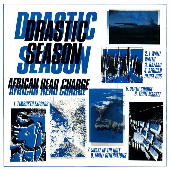 African Head Charge Drastic Season LP Vinyl Reggae Free US Shipping