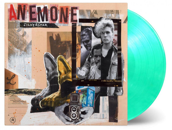 Anemone Silver Star DEBUT LP 180 Gram Green Mixed Color Vinyl Ltd MOV 2018 NEW SEALED PreOrder