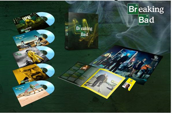 Breaking Bad Soundtrack 10th Anniversary Five 10