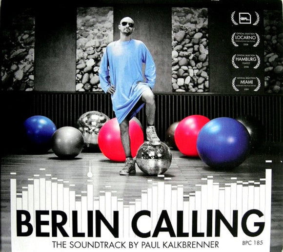 Berlin Calling The Soundtrack Paul Kalkbrenner 2 LP 180 Gram First Time on Vinyl Poster 10th NEW PreOrder