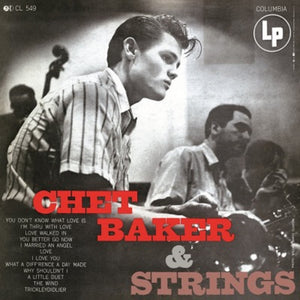 Chet Baker & Strings LP 180 Gram Audiophile Vinyl COOL JAZZ MOV Import NEW SEALED