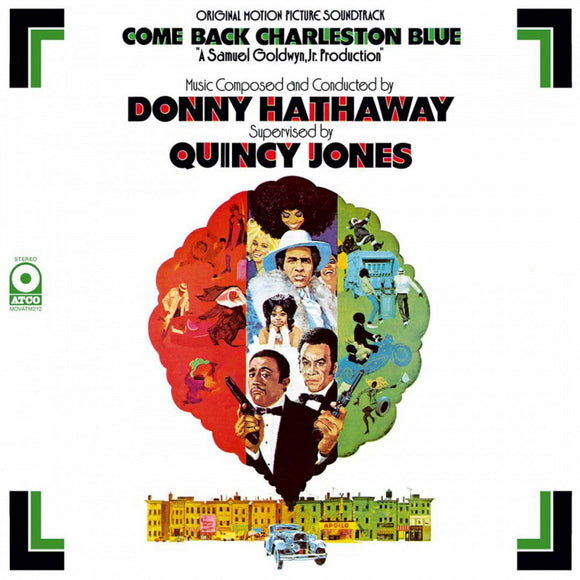 Come Back, Charleston Blue Soundtrack Donny Hathaway LP 180 Gram Audiophile Vinyl MOV Import PreOrder