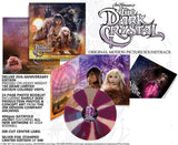 The Dark Crystal 35th Anniversary Deluxe Ed Soundtrack LP 180 Gram PURPLE PINWHEEL Vinyl NEW SEALED