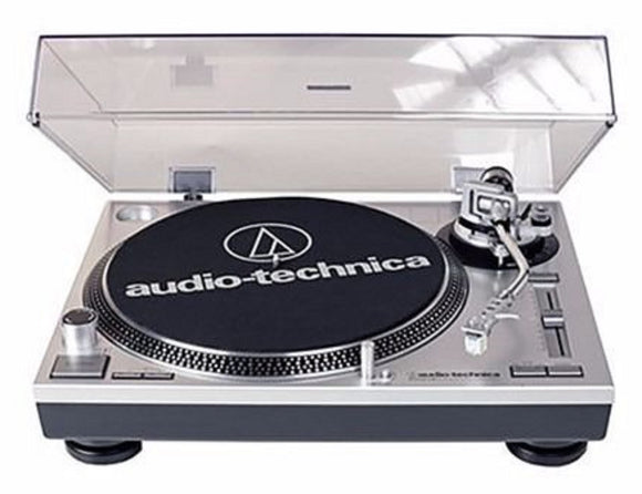 Audio Technica AT-LP120-USB Direct-drive Turntable Silver NEW Free USA Shipping