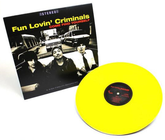 Fun Lovin' Criminals Come Find Yourself LP 180 Gram YELLOW Vinyl Ltd Num MOV NEW