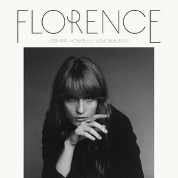 Florence + The Machine How Big, How Blue, How Beautiful 2 LP Vinyl ROCK NEW SEALED