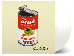 Gare du Nord Fresh From the Can 2 LP 180 Gram CLEAR Color Vinyl Compilation MOV Ltd PreOrder