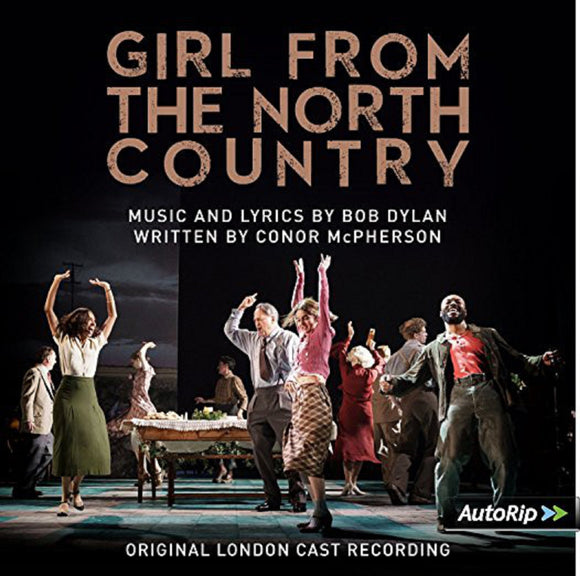 Girl from the North Country Soundtrack Original London Cast 2 LP Vinyl Music by Bob Dylan UK Import NEW