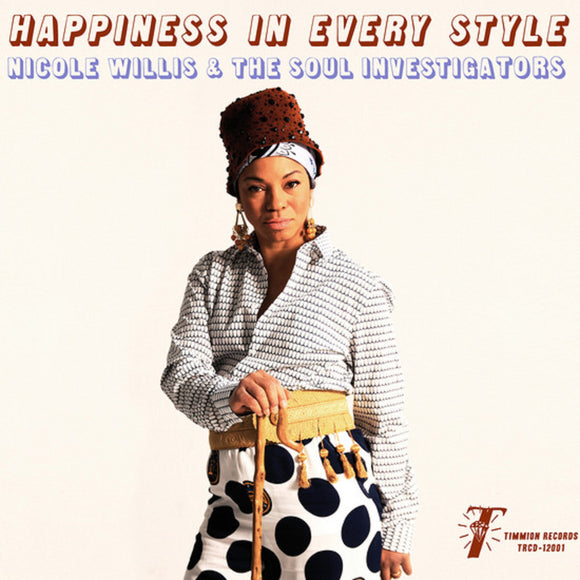 Nicole Willis & The Soul Investigators Happiness in Every Style LP Vinyl FUNK NEW SEALED