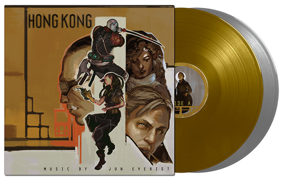 Shadowrun: Hong Kong Video Game Soundtrack Jon Everist 2 LP Gold & Silver or Black Colored Vinyl NEW