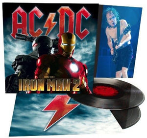 AC/DC Iron Man 2 Soundtrack 2 LP 180 Gram Audiophile Vinyl UK Pressing NEW SEALED