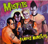 Misfits Famous Monsters LP 180 Gram GREEN & YELLOW Mixed Color Vinyl MOV Ltd NEW SEALED
