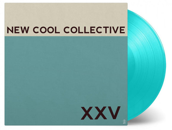 New Cool Collective XXV LP 180 Gram Turquoise Vinyl Ltd Ed 2018 Compilation NEW SEALED PreOrder