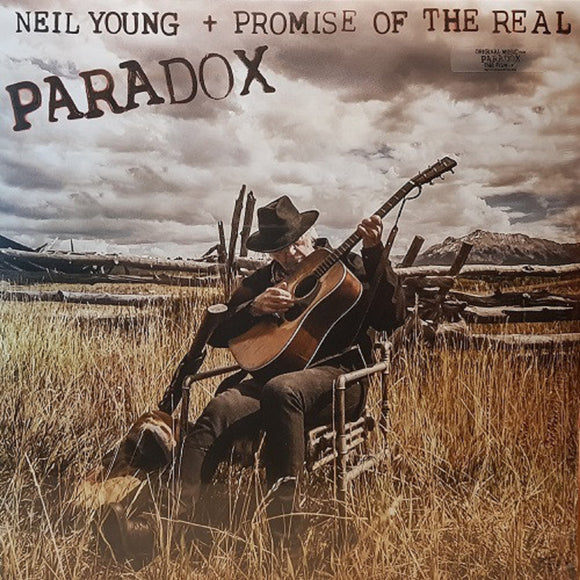 Neil Young + Promise of the Real Paradox Soundtrack 2 LP Etched Vinyl NYA ORS 10 EU Import NEW