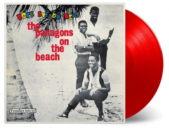 The Paragons On The Beach LP 180 Gram RED Color Vinyl Ltd MOV Reggae NEW SEALED
