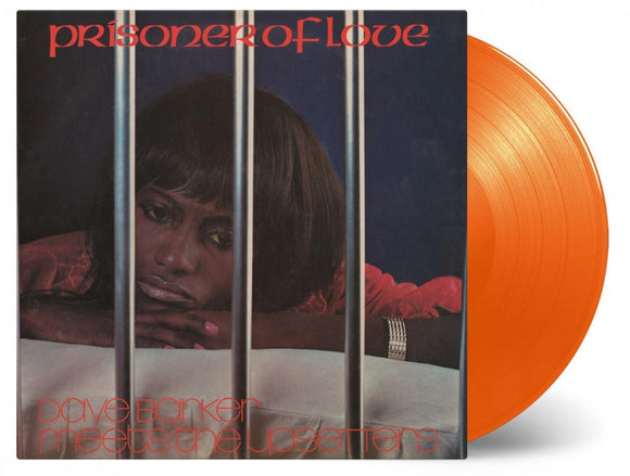 Dave Barker & The Upsetters Prisoner of Love LP 180 Gram ORANGE Vinyl Ltd MOV Import NEW SEALED