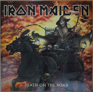 Iron Maiden Death On the Road 2 LP Remastered Vinyl Parlophone Import NEW SEALED