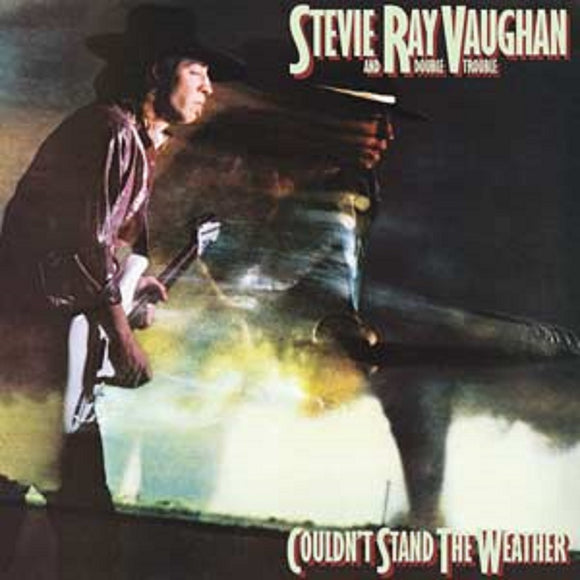 Stevie Ray Vaughan Couldn't Stand the Weather LP Vinyl Epic Reissue NEW SEALED