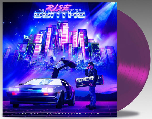 The Rise Of The Synths The Official Companion Album 2 LP Deep Purple Vinyl NEW SEALED PreOrder