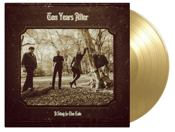 Ten Years After A Sting In The Tale LP 180 Gram GOLD Vinyl 2017 RELEASE MOV Import NEW PreO