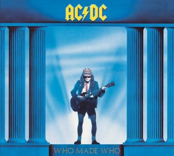 AC/DC Who Made Who LP 180 Gram Remastered Audiophile Vinyl UK Import 5099751076919 NEW SEALED