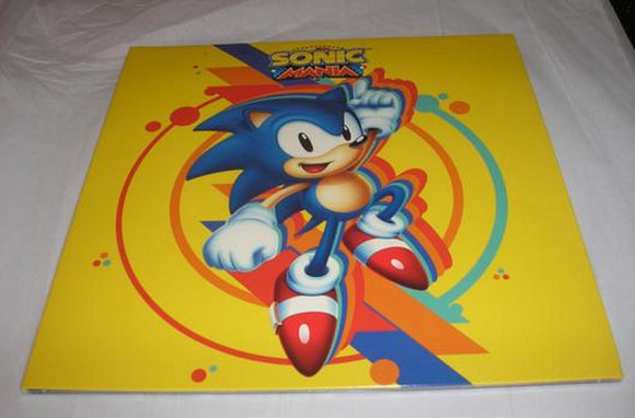 Sonic Mania Video Game Soundtrack Tee Lopes LP 180g Sonic Blue Vinyl NEW SEALED