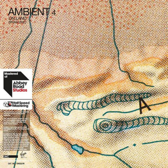 Brian Eno Ambient 4: On Land 2 LP Half Speed Mastered Vinyl 45 RPM EU Import NEW SEALED