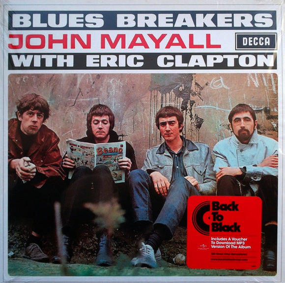John Mayall With Eric Clapton Bluesbreakers LP 180 Gram Remastered Vinyl EU Import NEW SEALED
