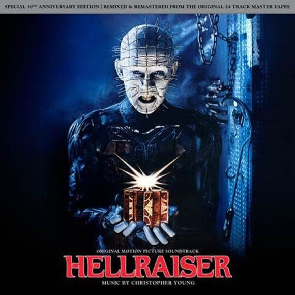 Hellraiser Soundtrack LP 140 Gram RED & BLACK SMOKE Vinyl 30th Anniv Ltd NEW SEALED