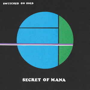Secret of Mana Video Game Soundtrack Switched on SNES LP 180 Gram Black or Marbled Vinyl (Random) PreOrder
