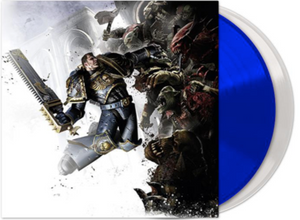Warhammer 40,000: Space Marine Video Game Soundtrack 2 LP 180 Gram BLUE & WHITE Vinyl NEW PreOrder