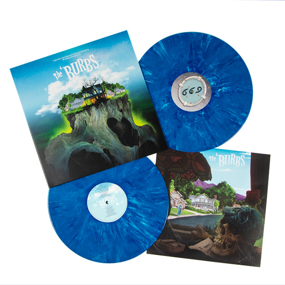 The 'Burbs Complete Expanded Score Soundtrack 2 LP 180 Gram Suburban Sky BLUE Vinyl NEW PreOrder