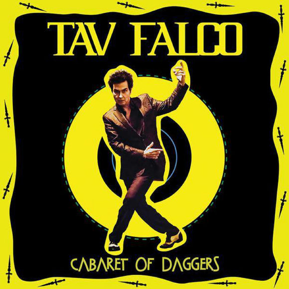 Tav Falco Cabaret of Daggers LP YELLOW Vinyl Ltd 2018 RSD BF Release NEW