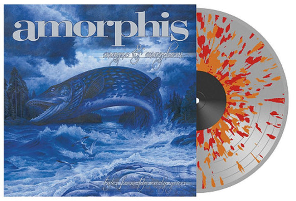AMORPHIS MAGIC AND MAYHEM TALES FROM THE EARLY YEARS 2 LP CLEAR / ORANGE / RED Splatter Vinyl Gatefold EU Import PreOrder