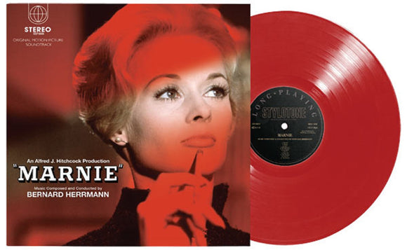 Marnie Soundtrack Super Deluxe Edition 2 LP SCARLET RED Vinyl 45rpm & 7