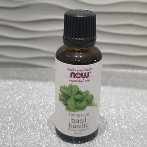 Basil  Essential oil by Now 30ml