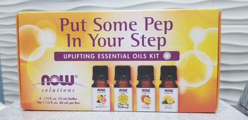 Put some Pep in Your Step Pure Essential Oil kit