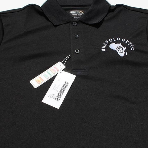 Black Polo Styled Dri-fit