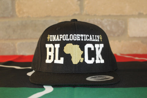 Black Unapologetic Snapback