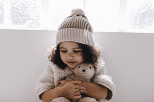 Bamboo Cotton Knitted beanie - one size fits most