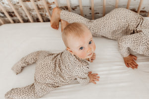 Leo Full length zippy jumpsuit in bamboo organic cotton