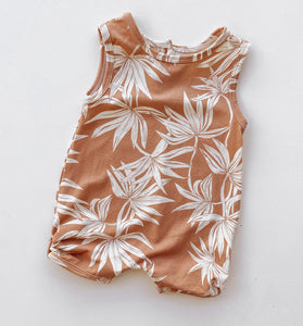 Bamboo Palm Playsuit