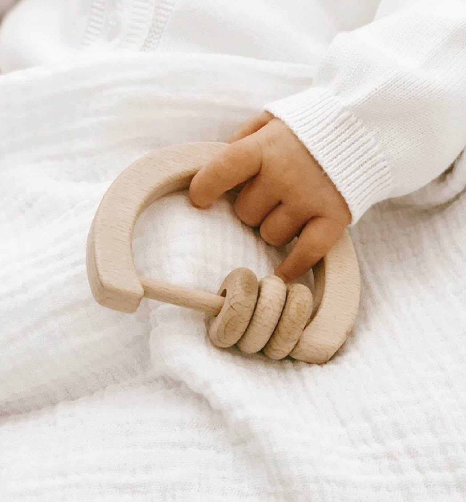 Wooden Eco Rattle